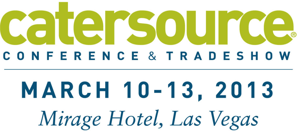 The 20th annual CaterSource Conference & Tradeshow begins March 10th in Las Vegas, Nevada.